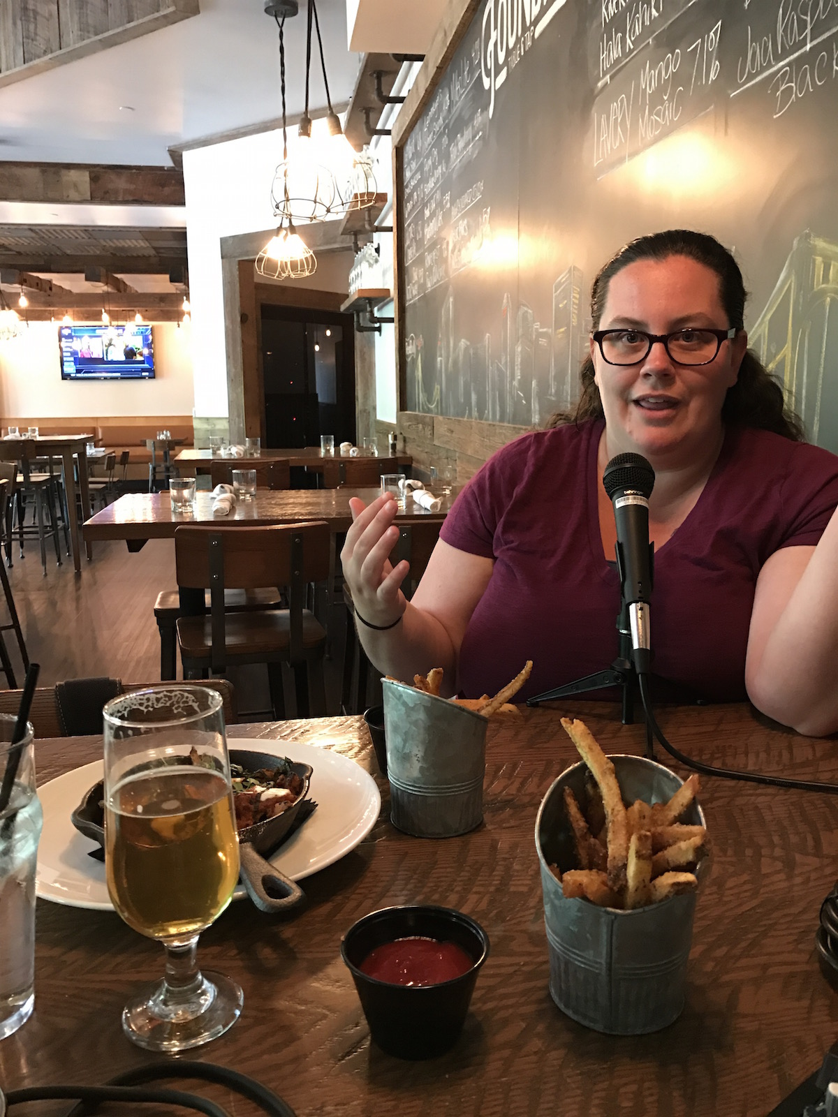 Amanda Narcisi from Bold Pittsburgh on the Fry Days in PGH Podcast