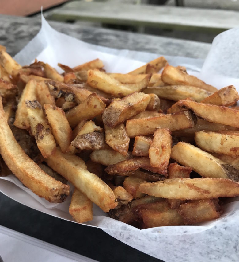 Basket of fries from Rowdy BBQ in the South Hills