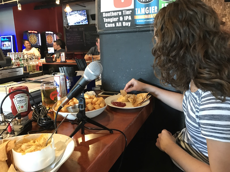 Marissa of Ampersand is the first guest on the Fry Days in PGH Podcast.