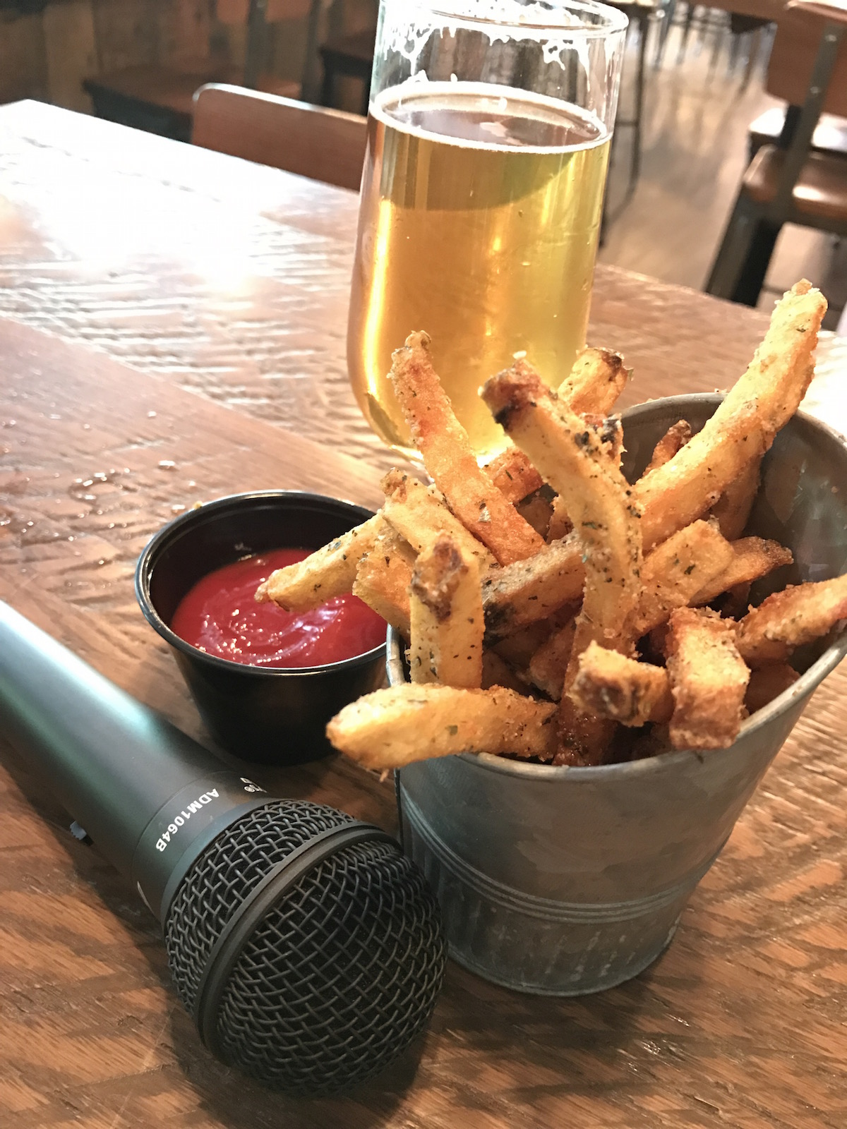 Pommes Frites and Podcasting at The Foundry