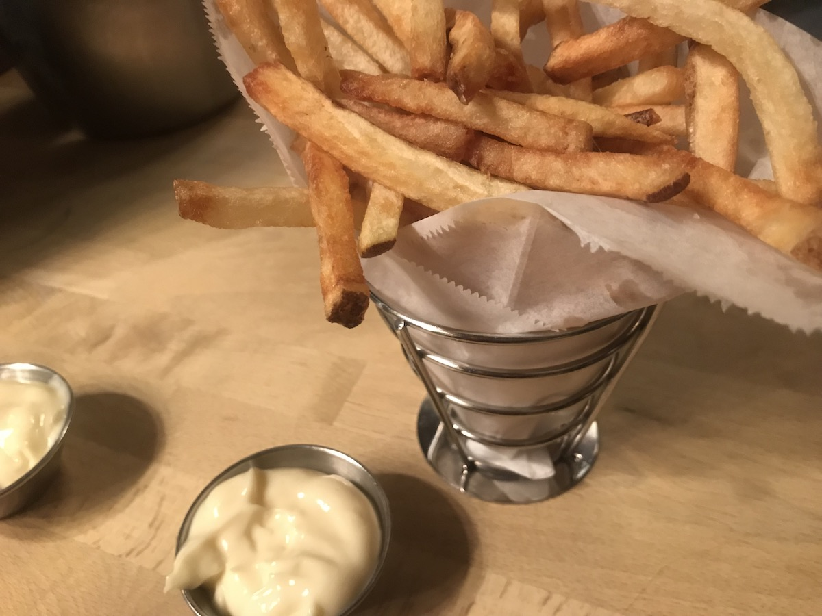 Butterjoint Fries and Aioli