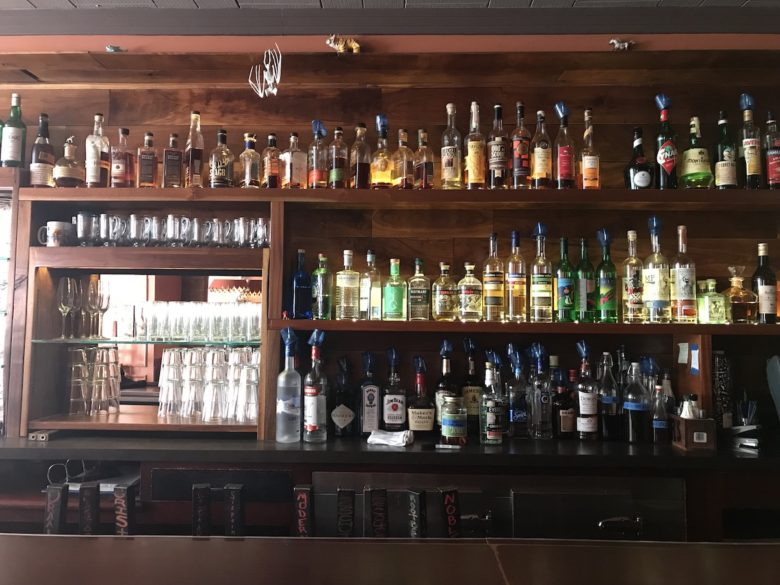 The bar at Butterjoint